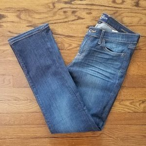 Lucky Brand Charlie Straight dark wash jeans 12